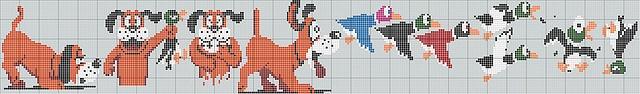 Duck Hunt Cross Stitch Pattern