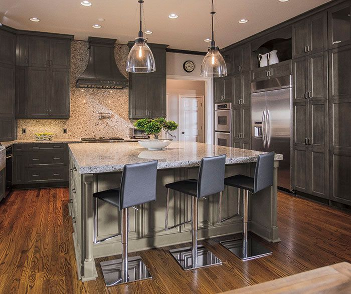 DOOR STYLE: Lexington » DESIGN STYLE: Casual ROOM: Kitchen WOOD ...