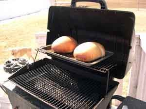 How to bake Bread in your Grill!! Great for hot summer baking or for emergency prep!