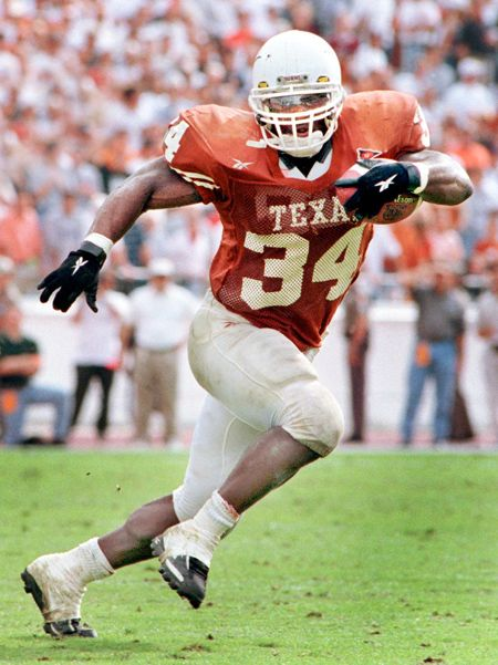 Ricky Williams, Texas Longhorns [1998 Heisman Trophy winner]