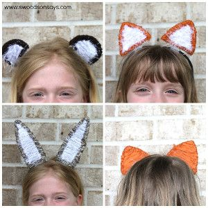 How to Make Animal Ear Headbands | AllFreeKidsCrafts.com These are the perfect addition to any kids' animal costume!