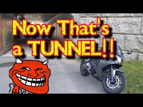 Quickie ~ Tunnel Rev Bomb a la Akrapovic