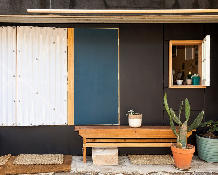Backyard Bungalows: Murray Barker   Assemble Papers by Ben Clement and Sarah Booth. Murray Barker's garage conversion is a nice note on which to wrap up our Backyard Bungalows series. To maximise his compact 18sqm space, he makes great use of the outdoor areas either side of it. Referencing Donovan Hill's D House, Murray has added windows and shutters that encourage interaction with the laneway and the life upon it—while still providing natural light and privacy when required. Photo by Ben…