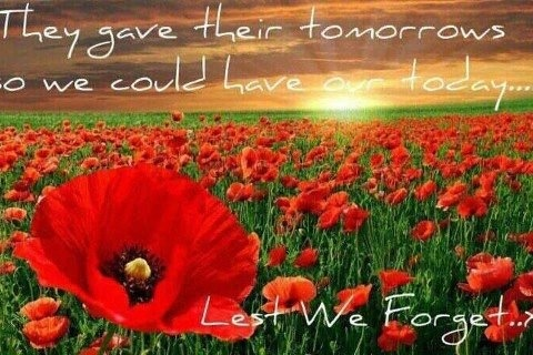 Lest We Forget - ANZAC Day 25th April