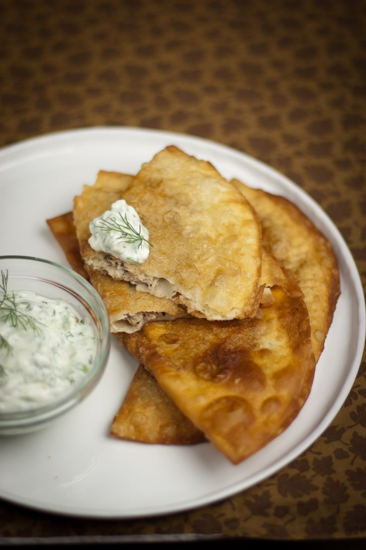 Chebureki - Чебуреки #Russian_recipes #Russian_food