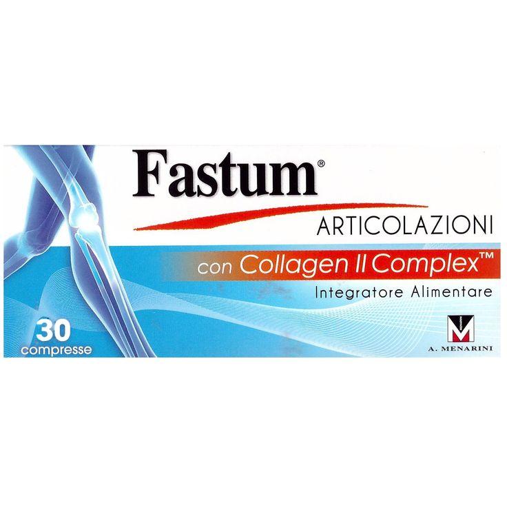 Menarini Fastum Articolazioni Συμπλήρωμα Διατροφής για τις Αρθρώσεις με Κολλαγόνο Τύπου ΙΙ Complex 30 Δισκία. Μάθετε περισσότερα ΕΔΩ: https://www.pharm24.gr/index.php?main_page=product_info&products_id=13435