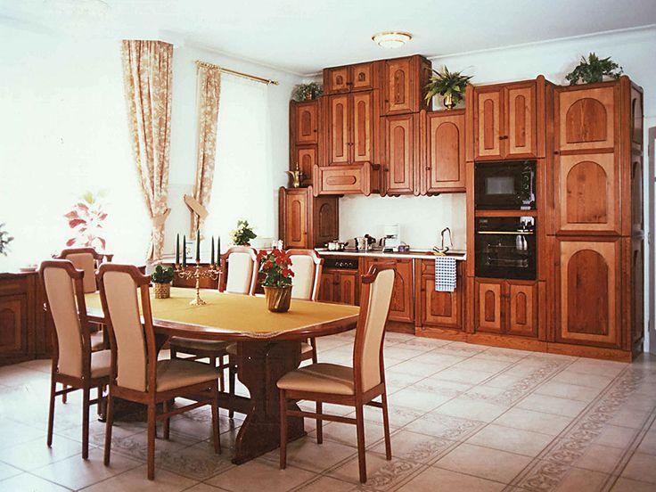 Étkező és konyha - egyedi bútor klasszikus stílusban, természetes színekkel #konyha #bútor #furniture #konyhabútor #kitchen