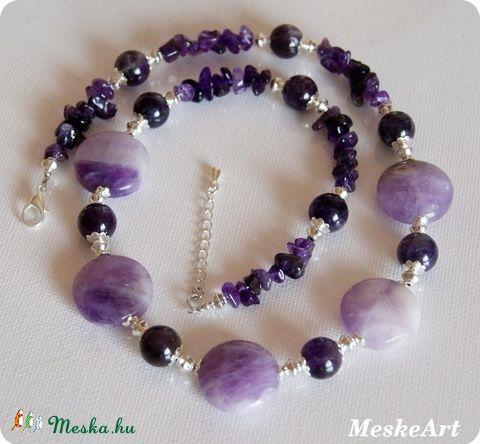 Ametiszt nyaklánc / Ametist necklace / Ametist nahrdelnik
