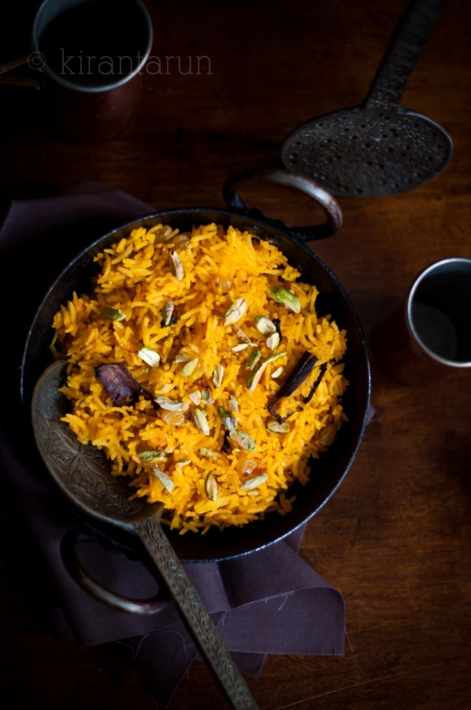 "… which simply translates to ""sweet rice"". Its not only sweet, but tempered with aromatic spices, meetha chawal will leave you begging for more. It was Vaisakhi celebration yester…"