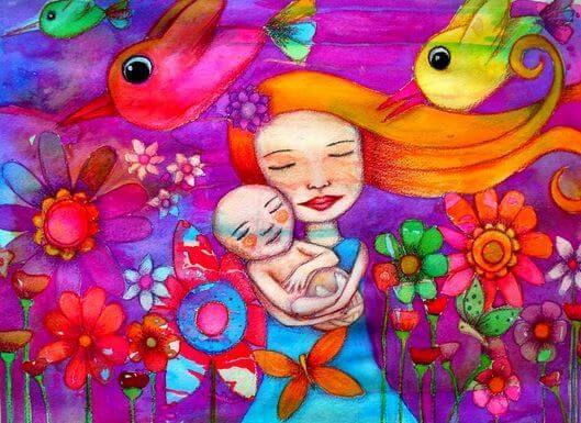Mãe e seu filho