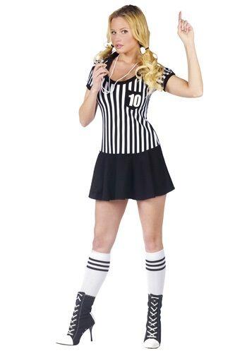 Womens Racy Referee Costume