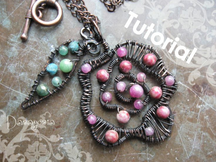 301 best Wire Wrapped Bead DIYs images on Pinterest | Wire jewelry ...