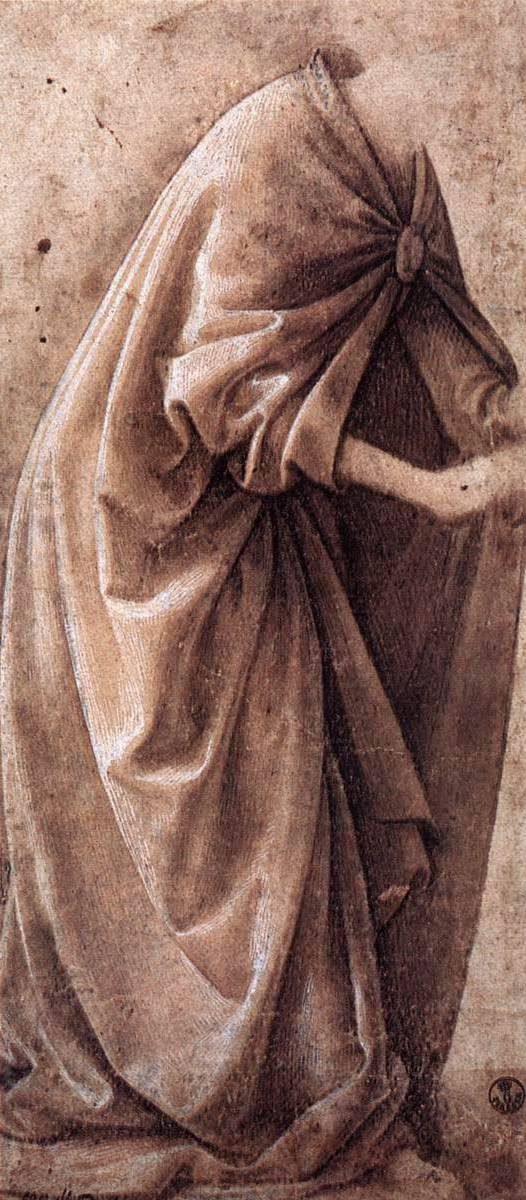 Domenico Ghirlandaio ~ Study of Garments, 1491