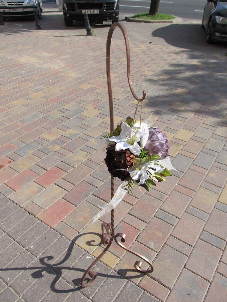 Wedding iron hook