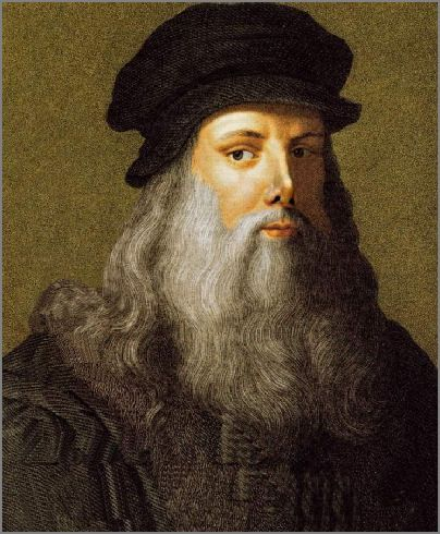 Leonardo Da Vinci (1452 - 1519) was one of the great masters of the Renaissance. Among his famous masterpieces are The Last Supper, Mona Lisa and the Virgin of the Rocks.