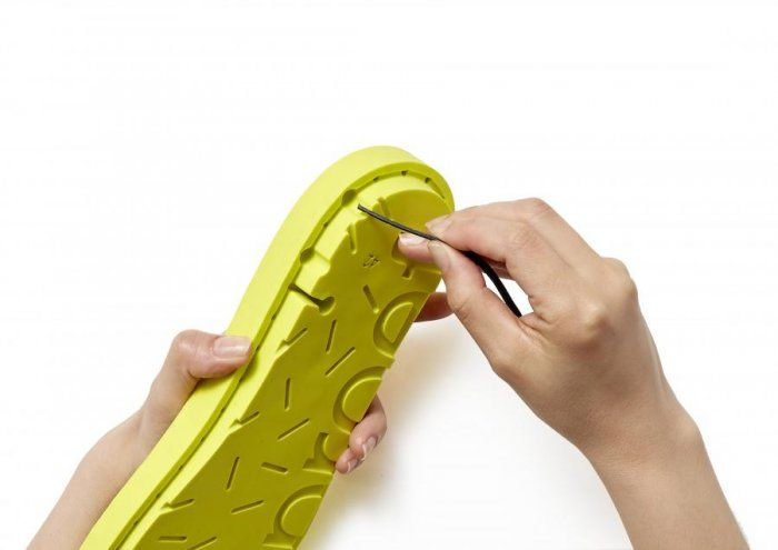 LOPER footwear: glueless rope construction
