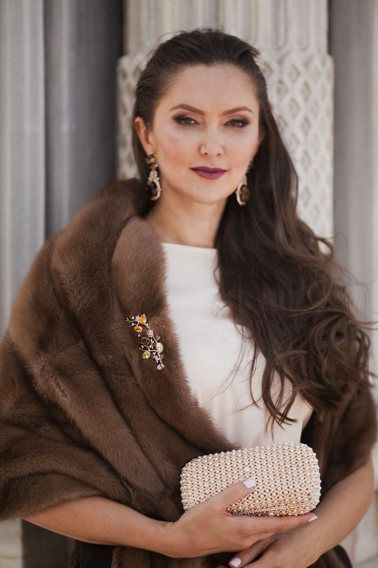 Gorgeous mink shawl for special occasions and event, available at stores and via What's App Shine bright with #ADAMOFUR