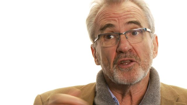 Larry Lamb on languages: 'My whole career has been based on Miss Smith teaching me French' – video