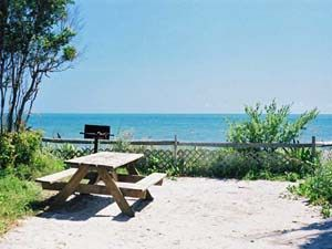 Oceanfront tent site at Bahia Honda State Park | Best places for tent camping in Florida Keys