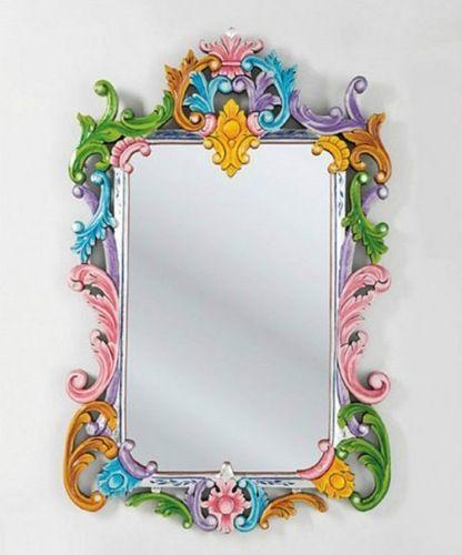 Die besten 25+ DIY decoupage mirror Ideen auf Pinterest Shabby - bemalte mobel romantischen motiven