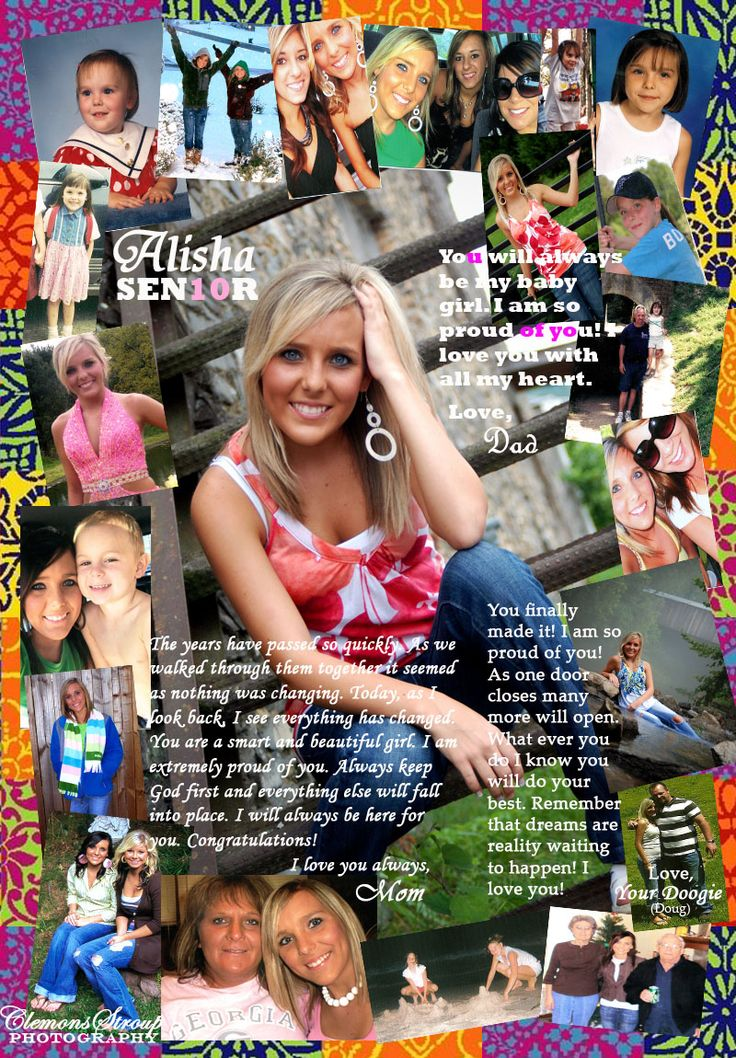 Help parents create amazing senior tributes for the yearbook.Image source: Flickr CC user A. Clemons-Stroup