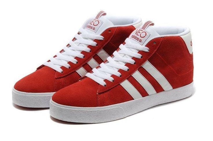 Adidas NEO High Tops rojas