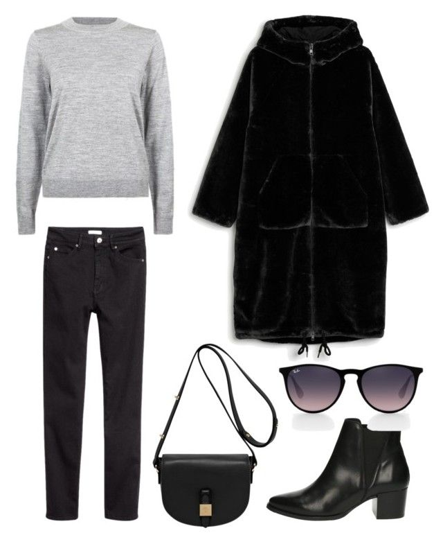 """""""Untitled #240"""" by stinasolheim on Polyvore featuring Privé, Monki, Mulberry and Ray-Ban"""