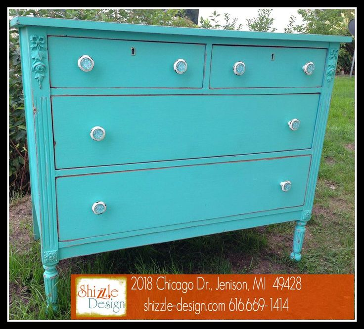 Hollland, Michigan - FOR SALE Antique Dresser painted by Shizzle Design  using Junk Gypsy™ - 126 Best FOR SALE - Painted Furniture - Shizzle Design West