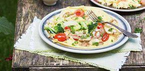 Hoe word je 100 recept groente-omelet. Voor een warm en vullend ontbijtje moet je dit een keer proberen. Ideaal gerecht om restjes groente op te maken.