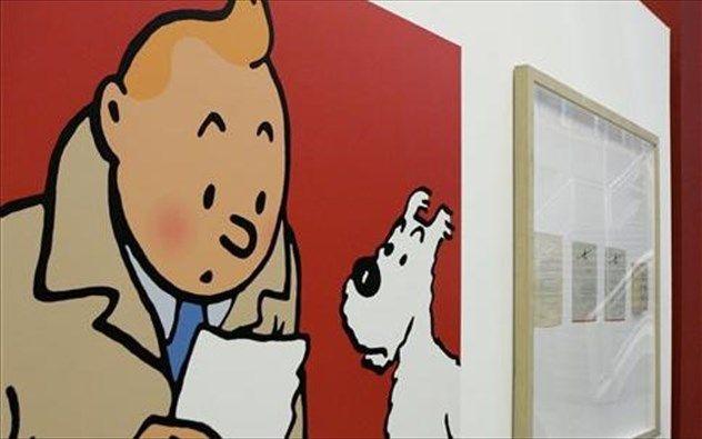 Ο Τεντέν και ο Μιλού σπάνε τα ρεκόρ στις δημοπρασίες http://xenofon.gr/Index.asp?Code=000390