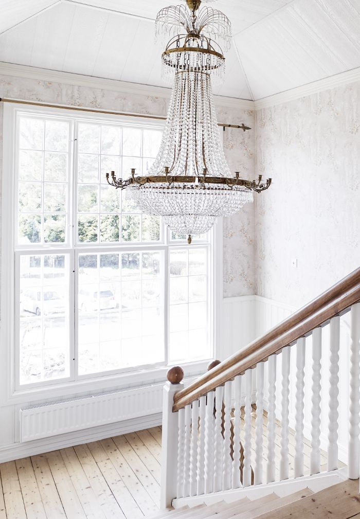 staircase - chandelier