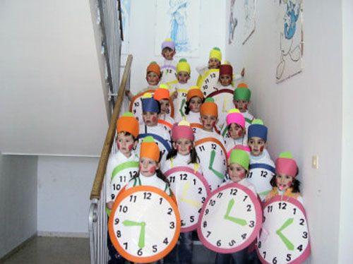 reloj con bolsa blanca