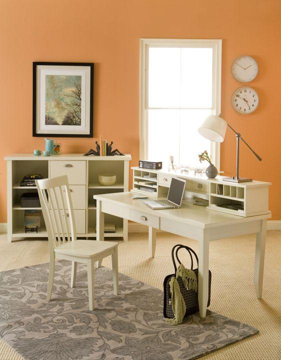 color craving orange sherbet orange living rooms colors and clock. Black Bedroom Furniture Sets. Home Design Ideas