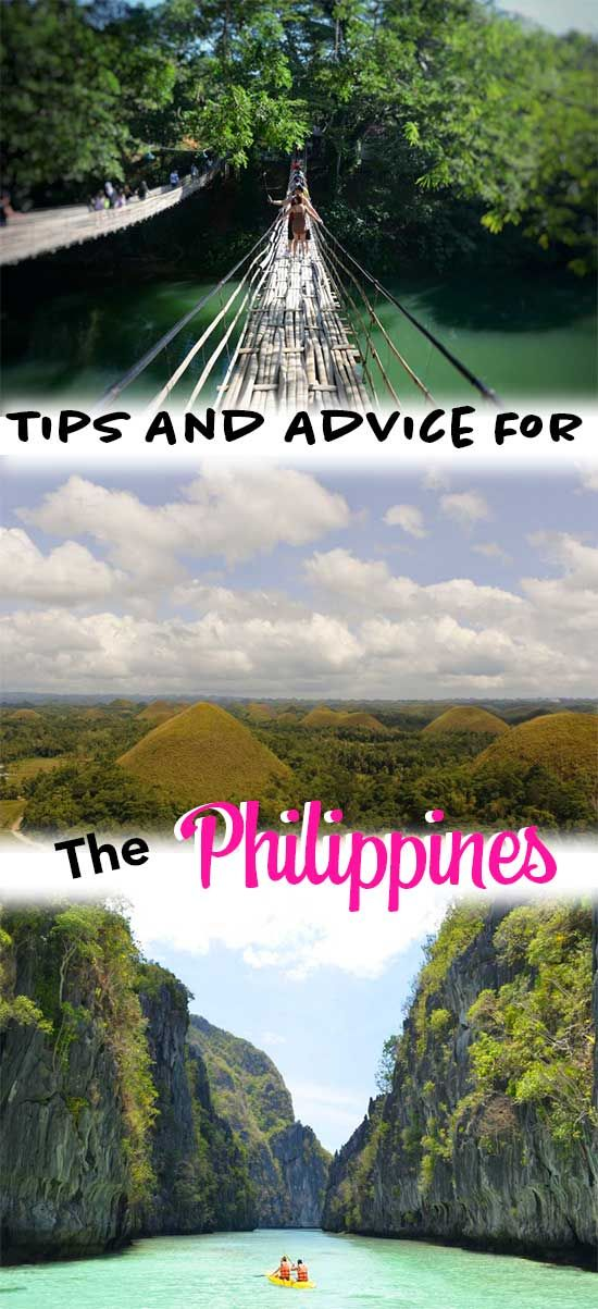 All the tips for the Philippines you need. Philippines tips | Philippines Advice