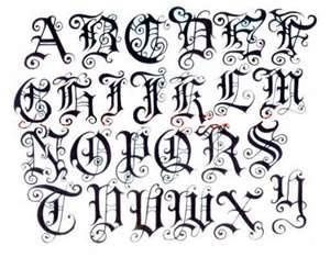 cool writing styles alphabet - Google Search