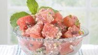 Watermelon, Olive, Jalapeño & Feta Salad Image