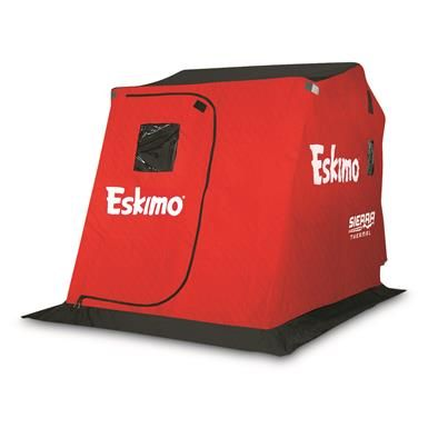 Eskimo Sierra Thermal Ice Fishing Shelter, 2 Person