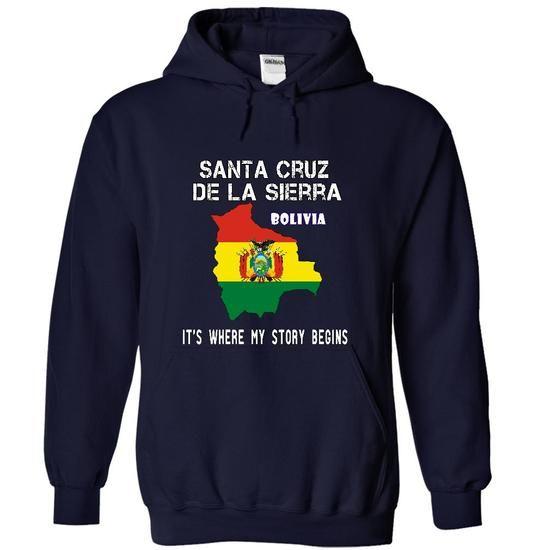 Santa Cruz de la Sierra -- Its Where My Story Begins! - #gift basket #gift for dad. BUY-TODAY => https://www.sunfrog.com/No-Category/Santa-Cruz-de-la-Sierra--Its-Where-My-Story-Begins-8641-NavyBlue-12182352-Hoodie.html?68278