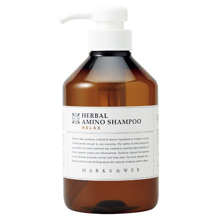 低刺激で生分解性にすぐれたアミノ酸系洗浄成分と、石けんをブレンドしました。豊かな泡立ちとなめらかな指通りで、髪と地肌を心地よく洗い上げます。パーマやカラーリングの髪にも配慮した、マークスアンドウェブの定番シャンプーです。ゼラニウムとカモミールの甘い香り。
