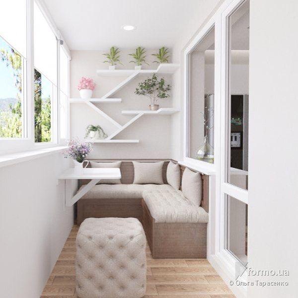 "10.5k Likes, 33 Comments - Дизайн Интерьера (@dizain.interier) on Instagram: ""Дизайн балкона"""