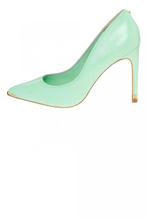 Mint green court shoes  Ted Baker Green Thaya Heeled Court Shoes, £110