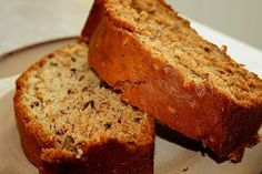 OMG - Best banana bread I have ever made! Lower Fat Banana Nut Bread.   I used buttermilk, 1/2 c. of sugar (not 1 c.), 1 c. wheat flour & 1 c. unbleached white flour, and added 1 tsp. of vanilla. Wow!