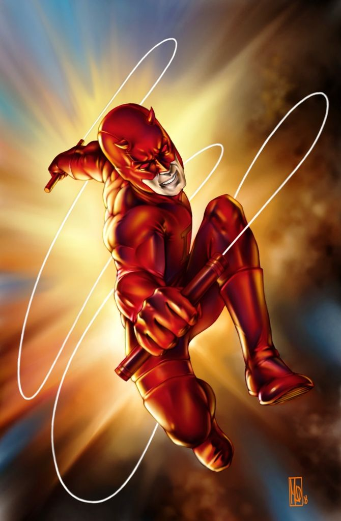 Daredevil. Wish they made a better movie for this guy