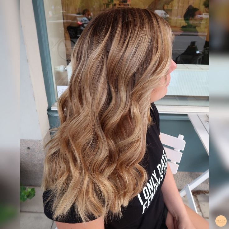 Beige blond Ombre
