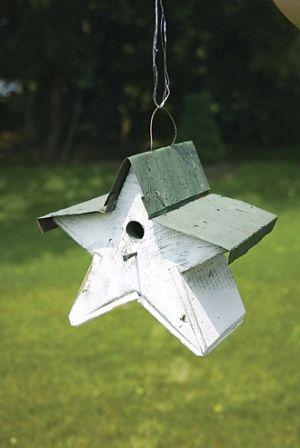 darling birdhouse, charm in the garden