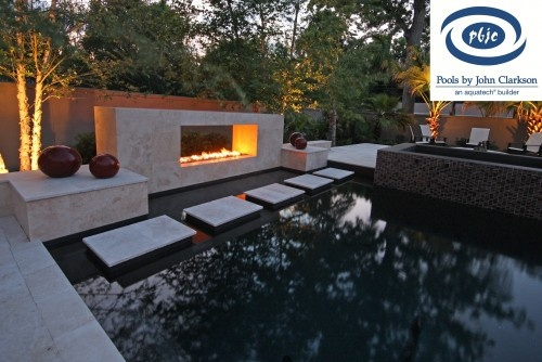 nice#Repin By:Pinterest++ for iPad#: Decor, Outdoor Photo, Backyard Ideas, Fireplaces Design, Outdoor Living, Contemporary Pools, Fire Pit Design, Outdoor Spaces, Pools Design