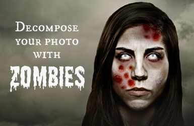 Decompose your photo with Zombies