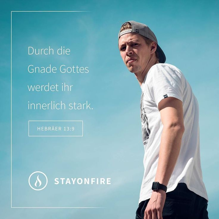 Durch die Gnade Gottes werdet ihr innerlich starkund nicht durch Bestimmungen über Speisen die keinem helfen der sich danach richtet. (Hebräer 13:9)  #stayonfire #strong #stark #character #heart #purpose #sinn #grace #god #gott #jesus #holyspirit #power #jesussaves #jesuslovesyou #jesuschrist #godisgood  #bible #bibelvers #bibleverse #zitat #faith #hope #glaube #zitat #hoffnung #gnade #lifestyle #motivation #inspiration by stayonfire.official