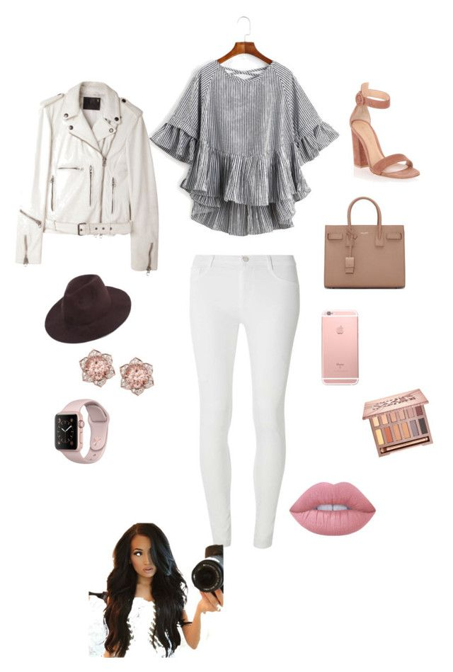 """Sin título #208"" by carolinaramirez-1 on Polyvore featuring moda, Dorothy Perkins, Gianvito Rossi, R13, Yves Saint Laurent, Urban Decay y Lime Crime"