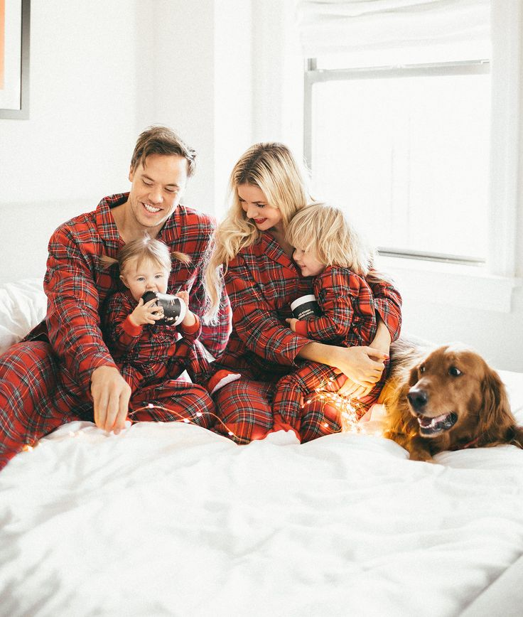 The Barefoot Blonde is a fashion and lifestyle blog by Amber Fillerup, which is extremely popular on Pinterest. This post shows her, her husband, her daughter, her son and her golden retriever. They are all white and have a well-decorated home, implying that they are upper-middle class. Also the matching Christmas pajamas imply that they are Christian. They are straight and cisgender, and consequently, make up the quintessential American nuclear family.